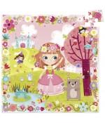Puzzle en bois Princesse des fleurs - Vilac