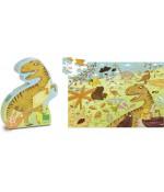 Puzzles en bois Dinausores - Vilac