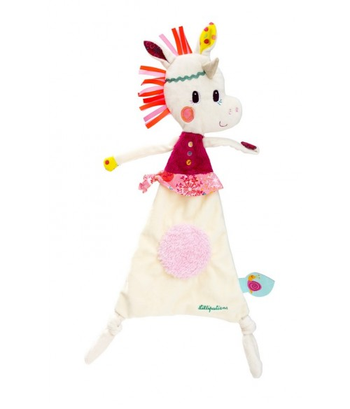 Doudou Louise la licorne lilliputiens