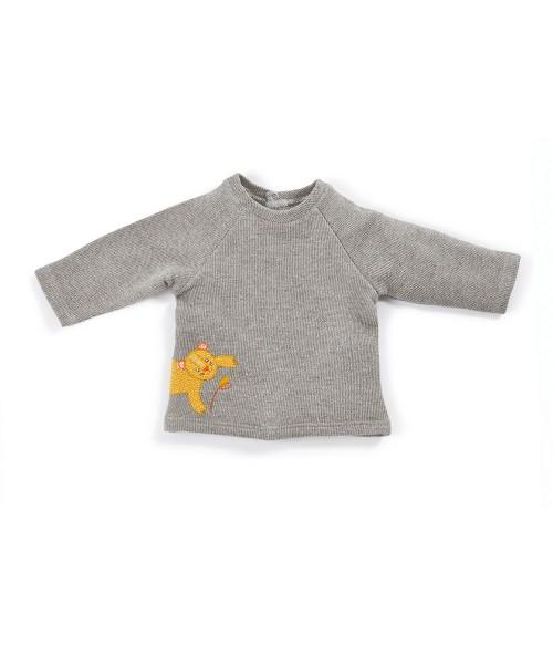 Louison sweat-shirt panthère Les Papoum - Moulin Roty