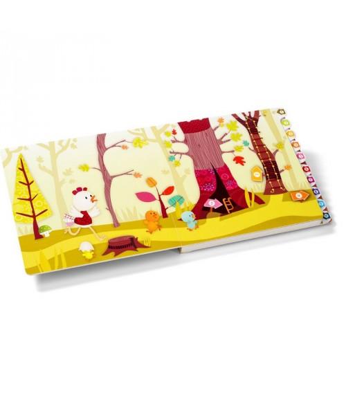 """Livre Labyrinthe Ophelie """"smart wonders"""" - Lilliputiens - La Forêt"""