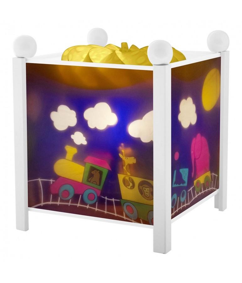 lanterne magique train trousselier. Black Bedroom Furniture Sets. Home Design Ideas