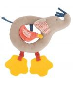 Anneau-hochet éléphant Les Papoum