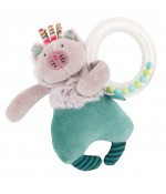 Hochet anneau billes chat Moulin Roty - Les Pachats