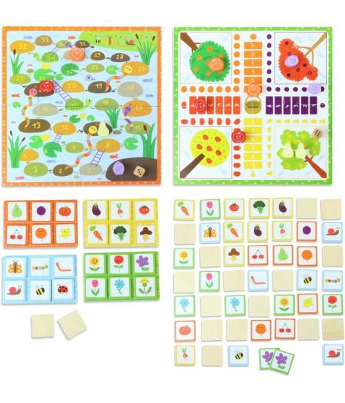 Coffret 4 jeux mon Jardin - Vilac