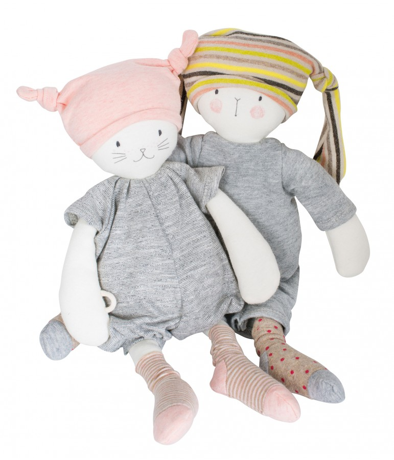 9090f8c39f20 Peluche Moon le chat - Les petits dodos Moulin Roty