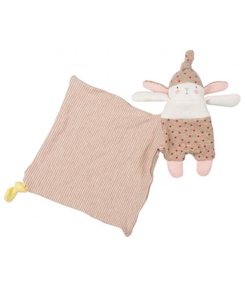 Doudou Lulu le lapin Les Petits dodos Moulin Roty