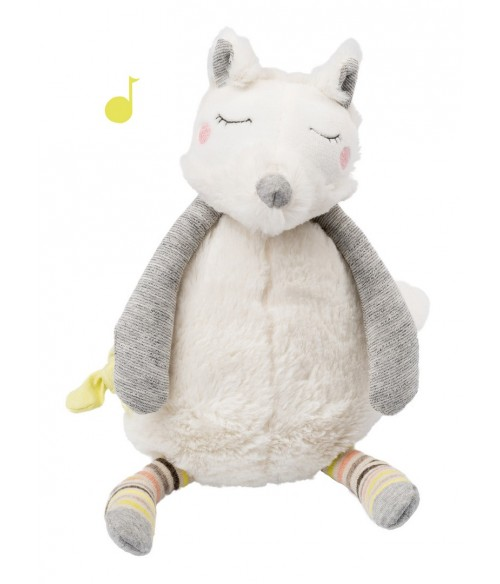 Peluche musicale chien Oko Les Petits dodos Moulin Roty