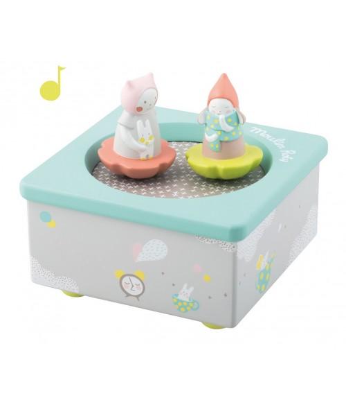 Boite à musique les petits dodos Moulin Roty