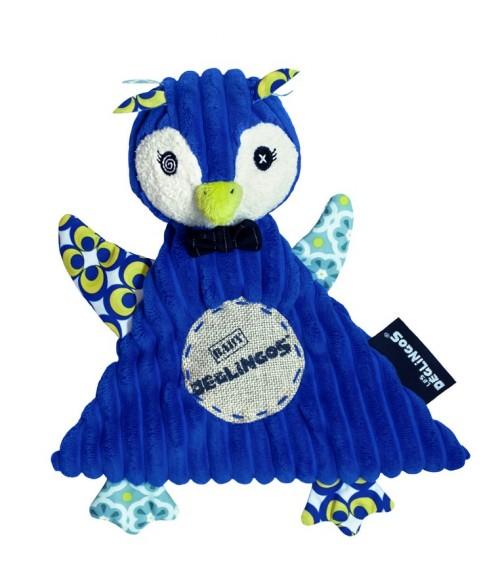 Doudou baby Frigos le Pingouin- Les Déglingos