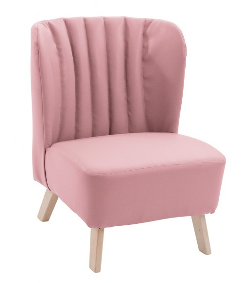Fauteuil rose Moulin Roty
