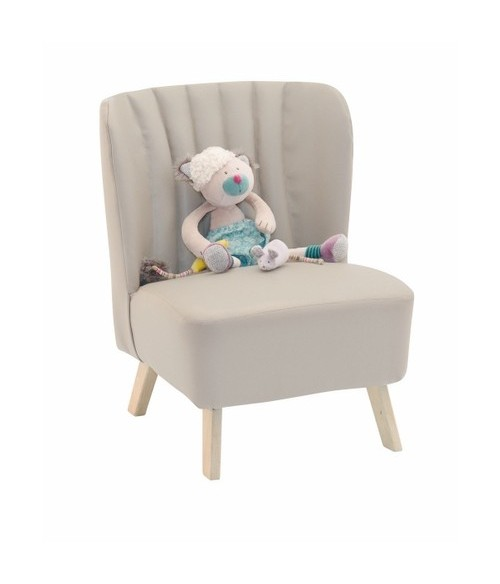 Fauteuil gris Moulin Roty