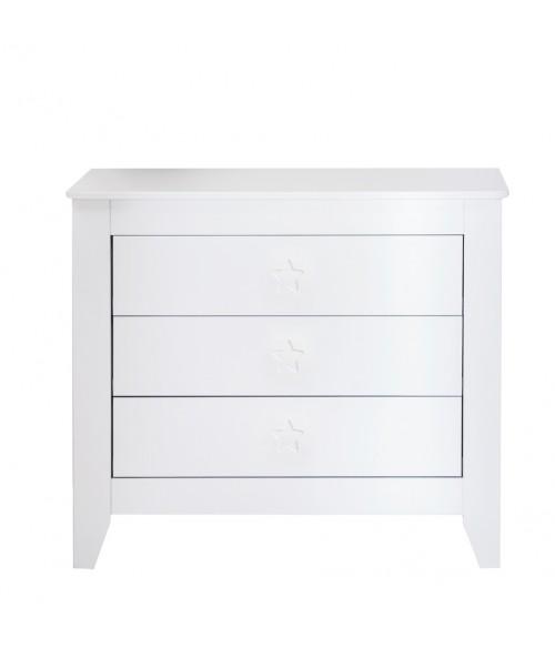 Commode 3 tiroirs Star Noukie's
