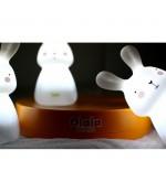 Veilleuses Léo Léni et Lila - Trio de lapins