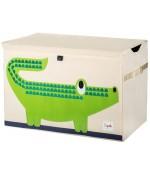 Coffre à jouets Crocodile - 3 Sprouts