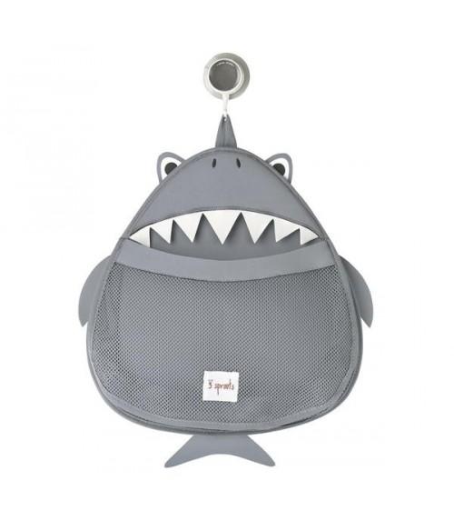 Rangement pour le bain Requin - 3 Sprouts