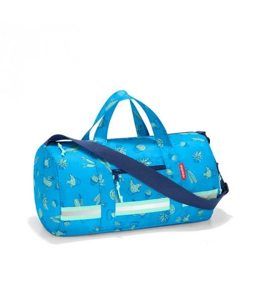 a8b997a485 Sac sport enfant | sac de voyage Enfant Bleu Cactus - Reisenthel