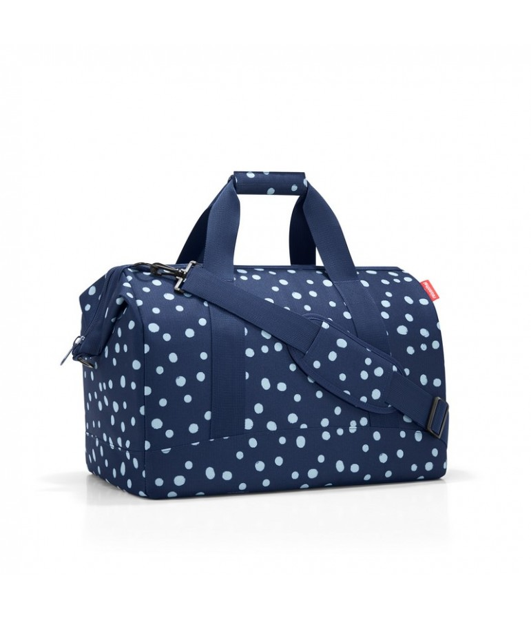 sac de voyage cabine grand mod le reisenthel spots navy. Black Bedroom Furniture Sets. Home Design Ideas