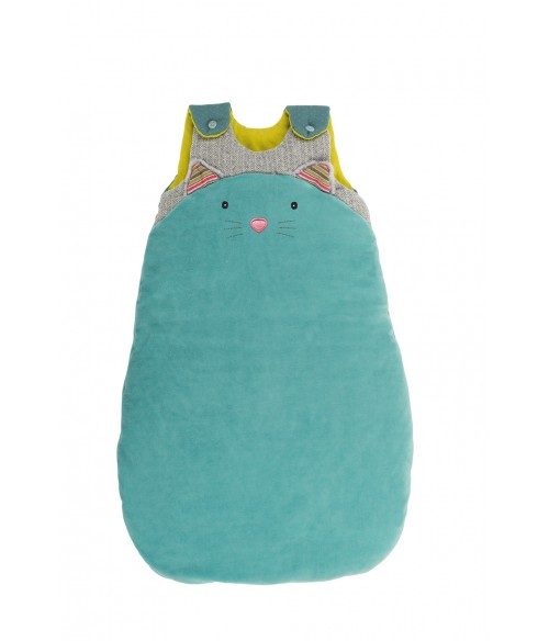 Gigoteuse Les Pachats, chat bleu