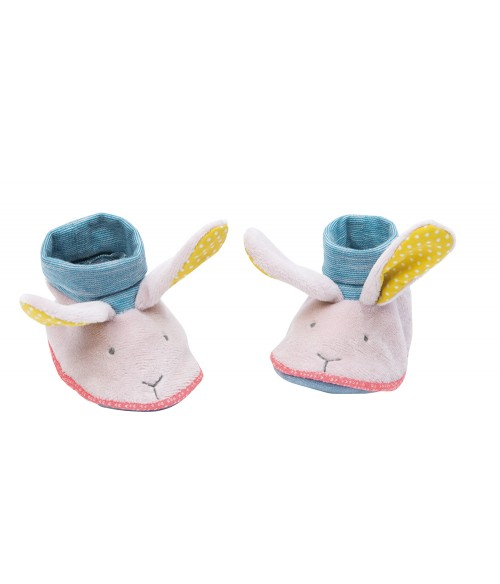 Chaussons Lapin Moulin Roty - Mademoiselle et Ribambelle