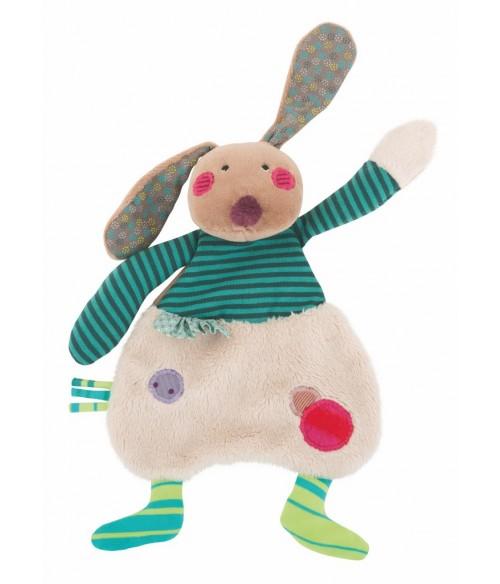 Doudou lapin Moulin Roty - Les jolis pas beaux