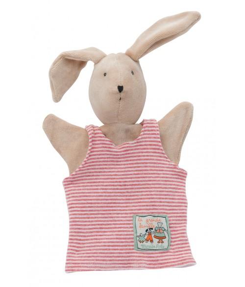 marionnette sylvain le lapin moulin roty la grande famille. Black Bedroom Furniture Sets. Home Design Ideas